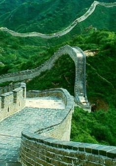 HIGH ON MANY BUCKET LISTS IS VISITING THE GREAT WALL OF CHINA