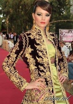 Algerian fashion: Qatifa jacket