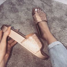 "8,493 Likes, 81 Comments - WWW.SIMMI.COM (@simmishoes) on Instagram: ""Rose gold bling ✨ 10% off with YASBISH Shoes: Monique - £18.00 Shop: simmi.com #SIMMIGIRL"""
