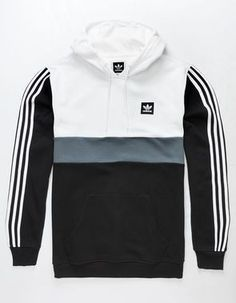 Adidas Hoodie Mens, Adidas Jacket, Mode Adidas, Adidas Outfit, Sweatshirt Outfit, Mens Clothing Styles, Adidas Men Clothing, Mens Sweatshirts, Men Casual