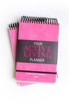MNB Ultimate Fit Girl Planner | Books by Lorna Jane Clarkson | Categories | Lorna Jane Site #lornajane #ljfitlist