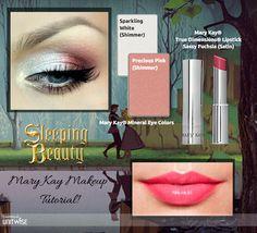 A fun and flirty, Disney - Sleeping Beauty Inspired Look with Mary Kay! Call or Text: 225.369.7381 Shop Online: www.marykay.com/bekkakaye LIKE my Page: www.facebook.com/BekkaKayeMaryKay