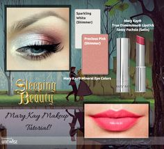 Here's our Sleeping Beauty Inspired Look! #MaryKay