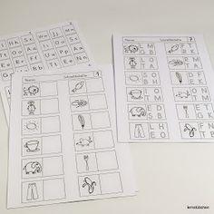 Lernstübchen: eine Förderkiste rund um die Schreibtabelle