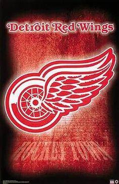Hockey Town! Detroit Red Wings! dkhnath