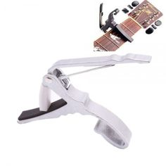 Quick Change Guitar Capo for Acoustic Electric Guitar - Silver  $7.49 & FREE Worldwide Shipping at EBAY! (less than 1 day left!)  EBAY Direct Link: http://www.ebay.com/itm/271678276058?ssPageName=STRK:MESELX:IT&_trksid=p3984.m1555.l2649