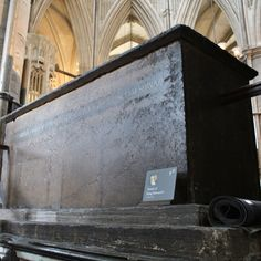 Edward I, King of England (17 June 1239 – 7 July 1307), son of Henry III, King of England. Buried in the North-West corner of the Chapel of Edward the Confessor, Westminster Abbey, London. Originally sheltered by a massive wooden canopy.