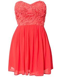Cornelli Lace Dress - Elise Ryan - Korall - Festklänningar - Kläder - NELLY.COM