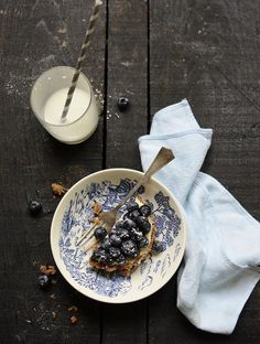 blueberry desert