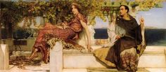 The Conversion Of Paula By Saint Jerome - Alma-Tadema Lawrence