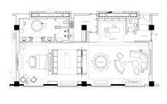 Pin by nguyen tien on floor plan in 2019 планировки, планиро Craftsman Floor Plans, House Floor Plans, House Layout Plans, House Layouts, Architectural Floor Plans, Floor Plan Drawing, Room Planning, Hotel Suites, Master Bedroom Design