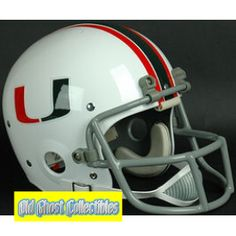 Old Ghost Collectibles - Miami Hurricanes Authentic Throwback Football Helmet 1977, $191.99 (http://www.oldghostcollectibles.com/miami-hurricanes-authentic-throwback-football-helmet-1977/)