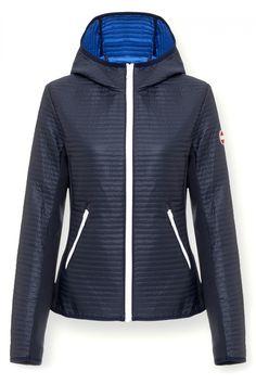 Colmar Damen Steppjacke Advanced Navy Jupiter | SAILERstyle Shops, Trends, Hooded Jacket, Athletic, Navy, Hoodies, Sweaters, Fashion, Fashion Styles