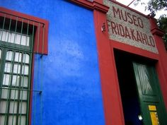 The Frida Kahlo Museum in Coyoacan, Mexico City. Looking forward to seeing this place! Visiting Mexico City, Visit Mexico, The Weather Channel, Mayan Ruins, Famous Places, See Picture, Places To See, The Good Place, Travel