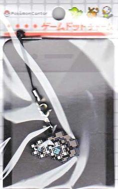 Pokemon Center 2012 Game Dot Charm Klang Phone Strap