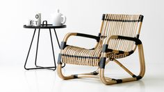 Curve Lounge Chair by Cane-Line Furniture