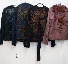 Walid London - jackets made from Piano Shawls