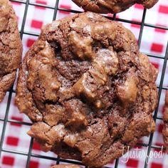 Yesterfood : Chocolate Buttermilk Cookies
