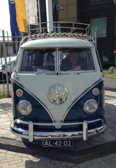 VW van. Love this one.
