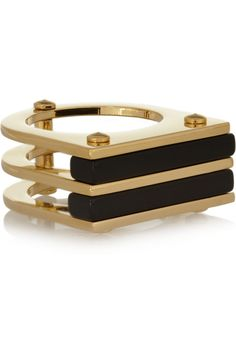 Marc by Marc Jacobs | Windows gold-tone resin ring | NET-A-PORTER.COM