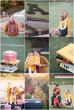 sporty engagement session