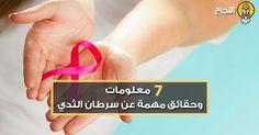 ما من امرأةٍ في هذا العالم إلّا وتشتكي من الخوف الشديد من الإصابة بمرض سرطان الثدي الذي يودي بحياة الآلاف من النساء في العالم سنويّاً، وبما أننا في شهر أكتوبر الذي خُصص للتوعيّة ضد هذا المرض، سنقوم بتسليط الضوء على مجموعةٍ من الحقائق والمعلومات المهمة حول سرطان الثدي.
