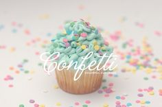 Confetti Colorful Cupcakes - Identity on the Behance Network