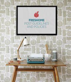 разместить свои руководящие принципы freshome