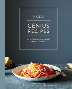 Collected by Executive Editor Kristen Miglore, this volume of recipes shares 100 remarkable recipes from acclaimed chefs including Nigella Lawson, Marcella Hazan, and Yotam Ottolenghi.- 272 pages- Hardcover- Ten Speed Food Design, Kimchi, Amanda Hesser, Jim Lahey, Chocolate Loaf Cake, Marcella Hazan, Cakes Plus, Best Cookbooks, Ginger Juice
