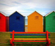 The Beach Huts of Fish Hoek Western Cape in South Africa Seaside Beach, Beach Huts, House By The Sea, Most Beautiful Cities, Rest Of The World, Beach Trip, Cabana, Cape Town, Places To See