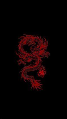 Wallpaper Rojo | Edgy Wallpaper, Dragon Wallpaper Iphone
