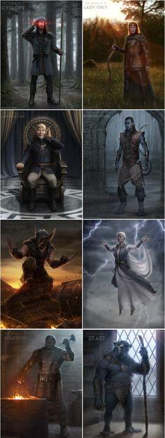 Medieval X-Men