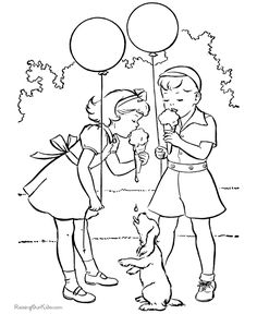 The Pup Trying To Have A Drop Of Ice Cream puppy coloring pages printable and coloring book to print for free. Find more coloring pages online for kids and adults of The Pup Trying To Have A Drop Of Ice Cream puppy coloring pages to print. Ice Cream Coloring Pages, Puppy Coloring Pages, Summer Coloring Pages, Coloring Sheets For Boys, Online Coloring Pages, Cool Coloring Pages, Printable Coloring Pages, Coloring For Kids, Adult Coloring Pages