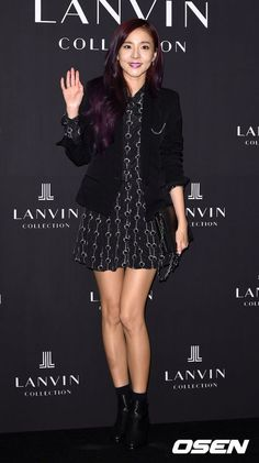 Classy Vampire Dara At Lanvin Collection Accessories Launching Event