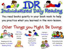 Great Ideas on how to do a readers workshop.