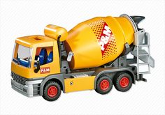 Cement Mixer - PM USA PLAYMOBIL® USA