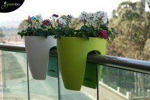 ¡¡Qué buena idea para los balcones!! :D