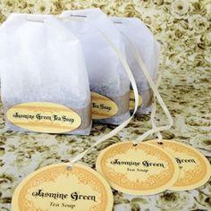 Jasmine Green Tea Soap Recipe + Gift Packaging — My Own Ideas