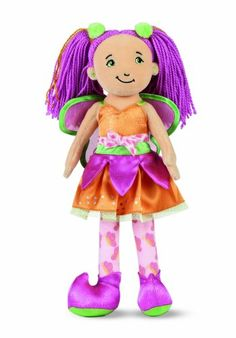 Manhattan Toy Groovy Girls Fantasy Themed Doll Fayla Fairy. Part of the Groovy Girls Collection by Manhattan Toy Company. Fantasy Themed, soft body doll for your little princess. A groovy gift for your little fairy. Amazing attention to detail. Inspires fun, creative play in your young child.