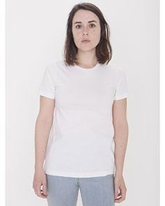 American Apparel 23215OR - Ladies Organic Fine Jersey Classic T-Shirt  #americanapparel #organic