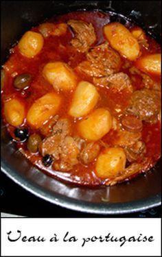 Veau à la portugaise