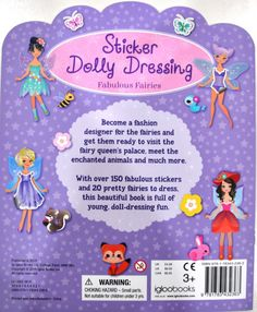 Sticker Dolly Dressing Sticker Book / Activity Boo (end 1/25/2017 2:55:00 PM)