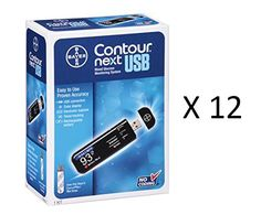 Special Offers - Bayer Contour Next USB blood Glucose Monitoring System 12 Meters - In stock & Free Shipping. You can save more money! Check It (September 18 2016 at 05:47AM) >> http://hrmrunningwatch.net/bayer-contour-next-usb-blood-glucose-monitoring-system-12-meters/