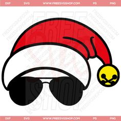 Free Cool Santa SVG Cut File | FreeSVGShop.com Woodworking Guide, Custom Woodworking, Woodworking Projects Plans, Teds Woodworking, Free Svg Cut Files, Svg Files For Cricut, Diy Cutting Board, Detailed Drawings, Silhouette Cameo Projects