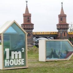 Berlin based architect & designer Van Bo Le-Mentzel designed the one square meter house.