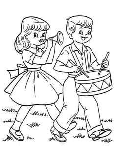 Drummer Boy And Girlfriend In Fourth Of July Coloring Pages : Kids Play Color Crayola Coloring Pages, Easter Egg Coloring Pages, Bible Coloring Pages, Coloring Pages For Boys, Free Printable Coloring Pages, Coloring Books, Boy Coloring, Coloring Sheets, Coloring Pictures For Kids