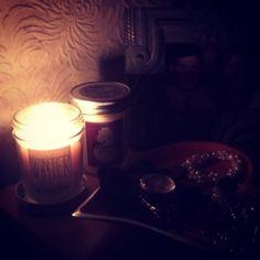 Loving bath & body works candles