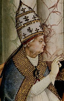 Pius II  Papacy began19 August 1458  Papacy ended14 August 1464  PredecessorCallixtus III  SuccessorPaul II  Orders  Ordination4 March 1447  Consecration15 August 1447  byJuan Carvajal  Created Cardinal17 December 1456  Personal details  Birth nameEnea Silvio Piccolomini  Born18 October 1405  Corsignano, Republic of Siena  Died14 August 1464 (aged58)  Ancona, Marche, Papal States