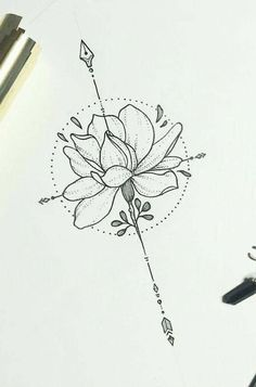 I like the idea of the circle (full moon) and lotus together for an upper back tattoo Arrow Tattoos, Feather Tattoos, Forearm Tattoos, Rose Tattoos, Flower Tattoos, Sleeve Tattoos, Flower Tattoo Designs, Tatoos, Form Tattoo