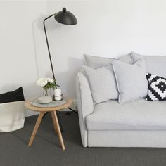 Beautiful interior styling of our Lisa Sofa by the talented @thelittledesigncorner  #interiordesign #styling